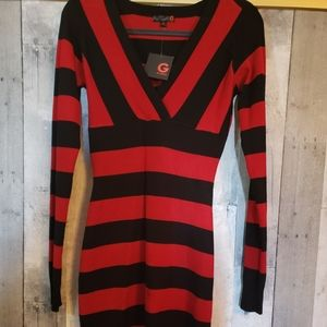 Guess sweater dress bodycon NWT medium